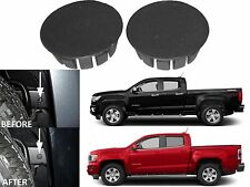 (2) Frame Plug Covers For 2015-2016 Chevrolet Colorado GMC Canyon New Free Ship