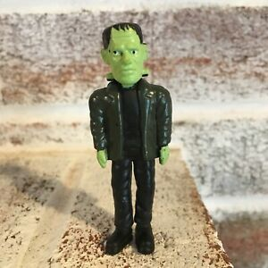 "Vintage Mini Monster 3"" Rubber Figure Halloween Frankenstein"