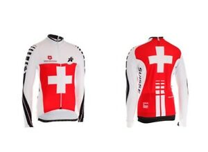 Assos iJ.equipeSuisse Swiss Cycling Federation Long Sleeve Jersey Extra Small
