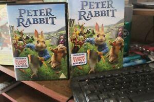 Peter Rabbit (DVD, 2018)b/n sealed