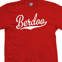 Berdoo Script Tail Shirt - San Bernadino Baseball Stars Team All Sizes & Colors