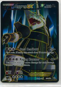 Aggron EX Full Art Ultra Rare 153/160 - Pokemon Primal Clash 2015