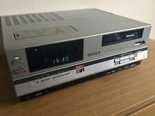 SONY SL-C6UB Betamax Video Recorder - Excellent Condition - New Belts Fitted
