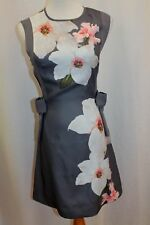 5edd1739a8ab Ted Baker Chatsworth A Line side Bow Dress sz 2 UK 10