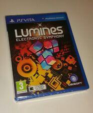 LUMINES ELECTRONIC SYMPHONY PS Vita Neuf Scellé UK PAL Sony PlayStation PSV