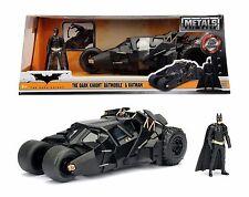 Jada 98261 2008 The Dark Knight Batmobile Car Tumbler w/ Diecast Batman Figure