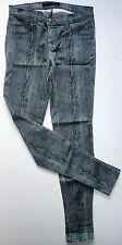 J BRAND SUPER SKINNY Holzmaserung Jeans 26 8 L 30 dunkelgrün schwarz Petite neuwertig