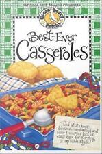 Gooseberry Patch Best-Ever Casseroles Hard Cookbook Recipe Book NEW