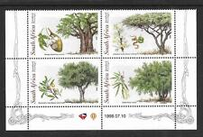 S.AFRICA, 1998, TREES, SG 1080-1083, FINE MNH  BLOCK 4.