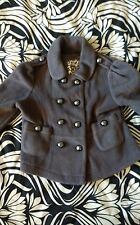 NEXT Grey Fleece Military Jacket, age 3, Worn Once