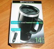 TRAVEL MUG HEATED (STAINLESS STEEL)