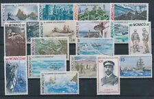 LN71623 Monaco fishing boats views landscapes fine lot MNH
