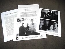 THE INNOCENCE MISSION Birds Of My Neighborhood Press Kit With 8x10 Photo  #2
