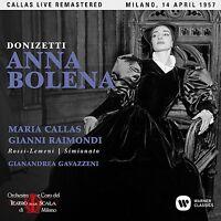 ANNA BOLENA (MAILAND LIVE 14/04/1957) REMASTERED 2017 2CD NEU DONIZETTI,GAETANO