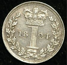 More details for maundy penny 1824george iv (t33)