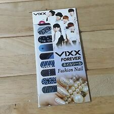 VIXX Fashion Nail Art Sticker  KPOP STAR GOODS New Gift