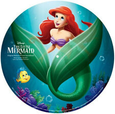 The Little Mermaid ORIGINAL MOVIE SOUNDTRACK Disney NEW VINYL PICTURE DISC LP