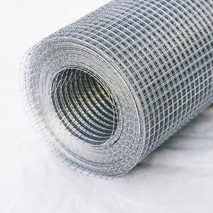 "36""x 50'x1/4"" 23GA Galvanized Welded Wire Hardware Cloth Metal Mesh Fencing"