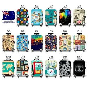 """Luggage / Suitcase Protective Cover 34 Designs 18-32"""" Size Anti-dust & Scratch"""