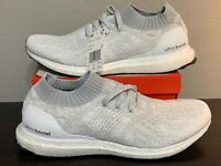 NEW Adidas Ultraboost Uncaged White Tint Ultra Boost Shoes Mens Size 12 Training
