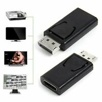 Mini Display Port DP Male To HDMI Female Adapter Converter For 1080P HDTV PC