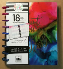 "NEW! 2020-2021 me & my BIG Ideas The Happy Planner CLASSIC ""INK SPLASH"" Planner"