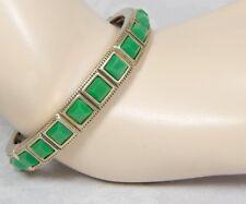 Lia Sophia Faux Jade Fashionable Stretch Bracelet