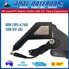 Car Charger With USB For HP EliteBook 8470p 8530p 8540p 8560p 8570p