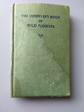 The Observers Book of Wild Flowers - 1958