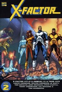 Essential X-Factor TP Vol 2 Beast Angel Iceman Jean Grey Cyclops Apocalypse new