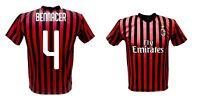 Maillot Bennacer Milan 2020 Officiel Uniforme 2019 Ismael 4 Algérie