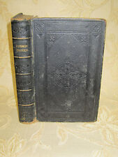 Antique Book Of The Common Prayer - 1867
