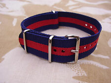 GRENADIER,COLDSTREAM,SCOTS,IRISH,WELSH GUARDS TRF/Stable Belt Colour Watch Strap