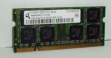 1gb Qimonda pc2-5300s ddr2 RAM hys64t128021edl