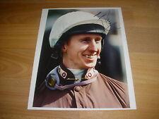Martin Dwyer horse racing jockey 03/05/98 original main Photo de presse signé