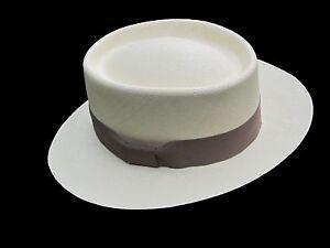 Genuine Panama Hat from Montecristi -Gambler- Fino fino, Men Women Straw Fedora