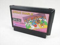 Famicom CIRCUS CHARLIE Cartridge Only Nintendo fc