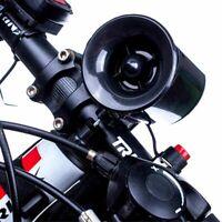super fort 6. sirène de police alarme anneau vélo appelle electric corne bell hq