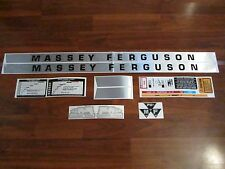 Massey Ferguson deluxe 135 gas Decal set sticker
