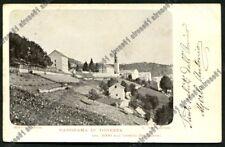 VICENZA TONEZZA DEL CIMONE 13 Cartolina viaggiata 1907 Foto  CEVESE Ediz. RUMOR