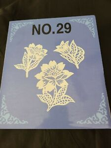 BROTHER LACE  #29 Embroidery Memory Card - Bernina Deco, Baby Lock & OTHERS