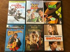 Lot of 6 Dvd's Toy Story 2, the Mask, Goldmember, The Other Guys