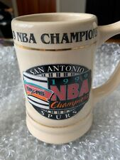 Vintage RARE San Antonio Spurs NBA Championship Mug Stein 1998-1999