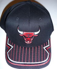 New Mitchell & Ness NBA Chicago Bulls  Basketball Cap SnapBack  Black