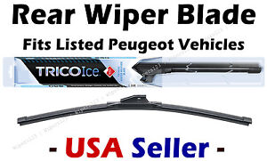 Rear Wiper - WINTER Beam Blade Premium - fits Listed Peugeot Vehicles - 35130