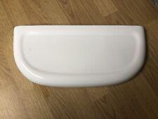 Toilet Cistern Lid = Doulton Caradon England, White, 45x20cm  L-626