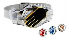 Bandai Masked Kamen Rider DX Henshin Belt Driver + Wizard Ring JAPAN F/S J4224