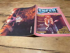 JUDAS PRIEST - QUIET RIOT - SCORPIONS - METALLICA - Enfer magazine N°11 de 1984