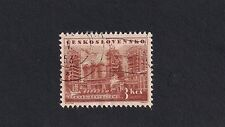 Czechoslovakia Stamps-1953 Socialistic Buildings and Industry (Z1)