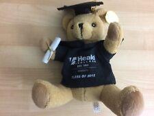Heald 2012 Graduation Teddy Bear w/ Cap & Gown